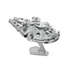 Metal Earth Star Wars 3D Laser Cut Steel Model Kit Millenium Falcon