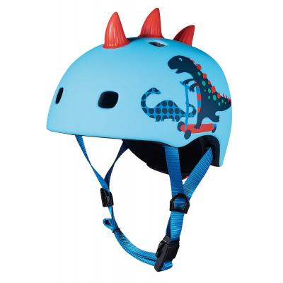 Micro - Kids Helmet 3D Scootersaurus with LED Light S