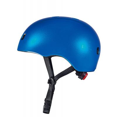 Micro - Kids Helmet Blue with LED Light Small