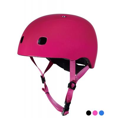 Micro - Kids Helmet Pink with LED Light Small