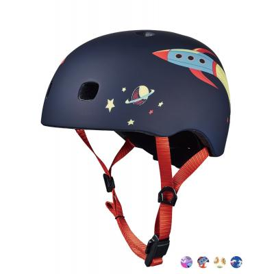 Micro - Kids Helmet Rocket with LED Light Small
