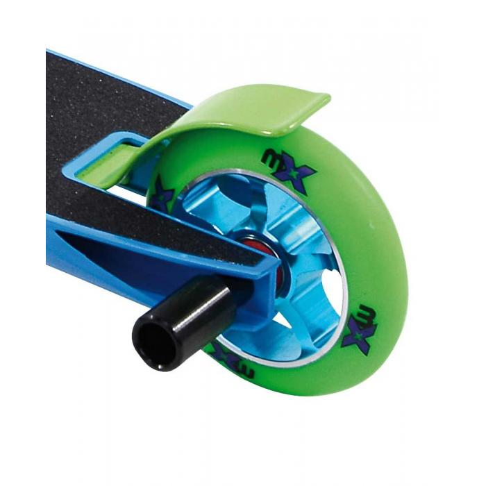 micro mx trixx rainbow blue stunt scooter. Black Bedroom Furniture Sets. Home Design Ideas
