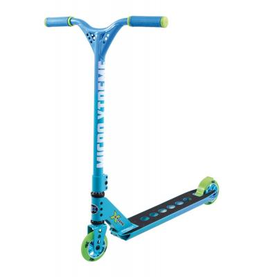Micro - MX Trixx Rainbow Blue Stunt Scooter