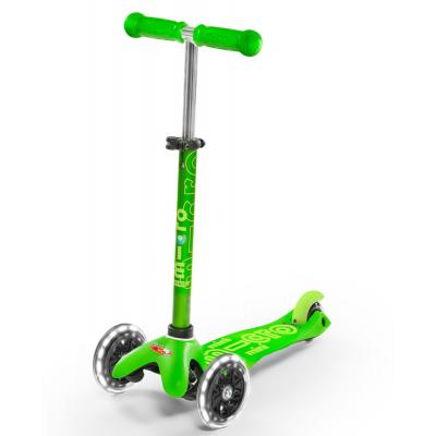 Micro Mini Micro Deluxe Scooter Green LED