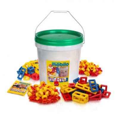 Mobilo - Giant Bucket with Lid - 416 Pieces