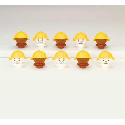 Mobilo - Supplement Set 10x Worker Faces