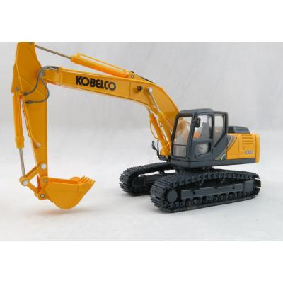 Motorart - KOBELCO SK210HLC-10 Tracked Hydraulic Excavator Yellow America Version  - Scale 1:50