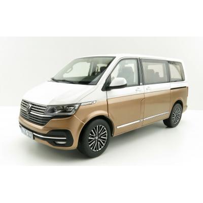 NZG 10171/67 - VW Volkswagen Multivan T 6.1 White / Bronze New 2021 - Scale 1:18