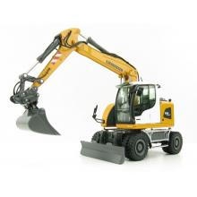 NZG 9431 LIEBHERR A918 COMPACT LITRONIC Hydraulic Mobile Wheeled Excavator New Design - Scale 1:50