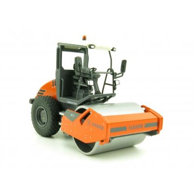 NZG 9482 HAMM H7i Smooth Drum Compactor with ROPS   - Scale 1:50