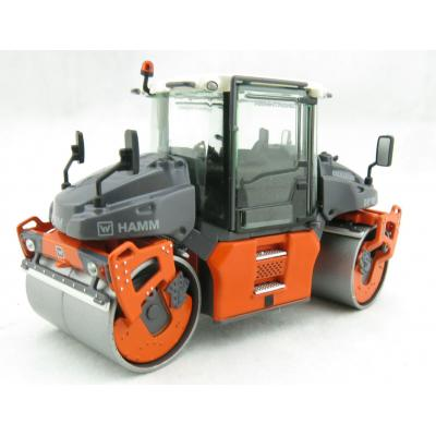 NZG 950 HAMM DV+90i VO-S Tandem Roller with Vibratory Drum - Scale 1:50