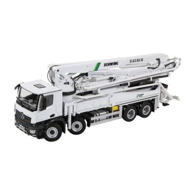 NZG 951 MERCEDES-BENZ AROCS 8x4 SCHWING S43SX III CONCRETE PUMP - Scale 1:50