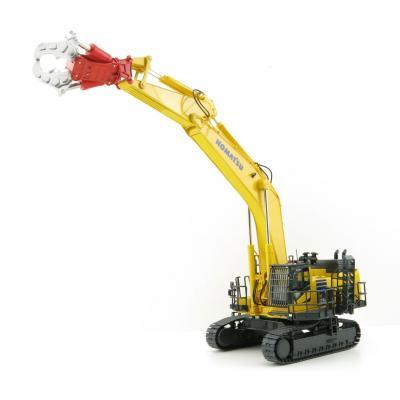 NZG 9991 - Komatsu PC 1250 LC-11 Tracked Excavator with Demolition Equipment 1:50