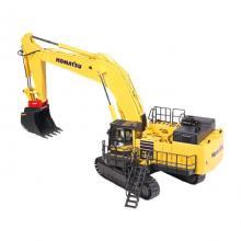 NZG 9992 - Komatsu PC 1250 LC-11 Tracked Excavator with Lehnhoff Quickcoupler & Equipment 1:50
