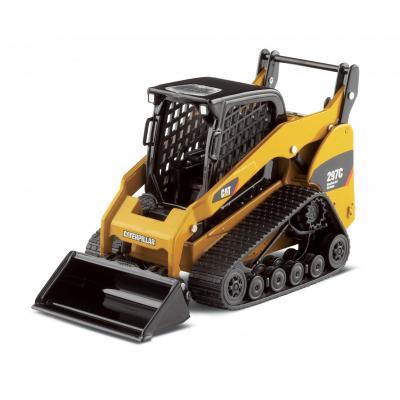 Norscot 55168 Caterpillar CAT 297C Multi Terrain Loader + Work Tools Scale 1:32