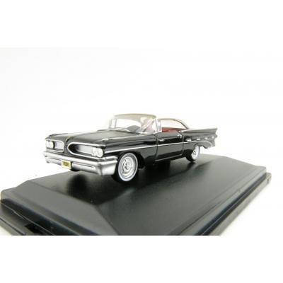 OXFORD 87ED59004 Pontiac Bonneville Coupe 1959 - Regent Black And White 1:87 Scale