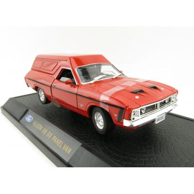 OZ Legends - Ford Falcon XB GS Panel Van Red Pepper Scale 1:32