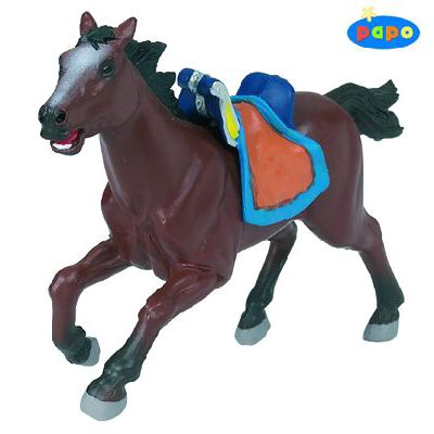 Papo 39624 - Viking Horse Brown