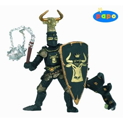 Papo 39917- Knight Bull Black and Gold