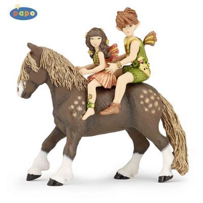 Papo 39011 - Elves Children and Pony