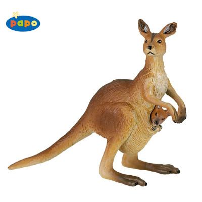 Papo 50023 - Kangaroo with Joey
