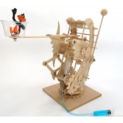 Pathfinders - Hydraulic Gearbot Wooden Mechanical Kit