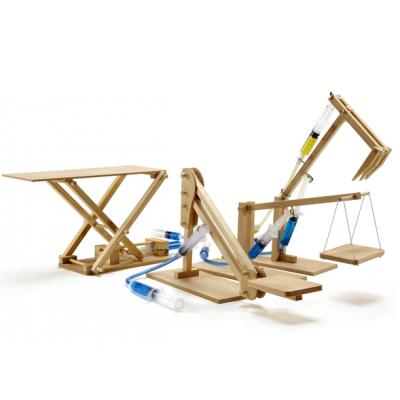 Pathfinders - Hydraulic Machines 4 in1 Multi Pack Wood