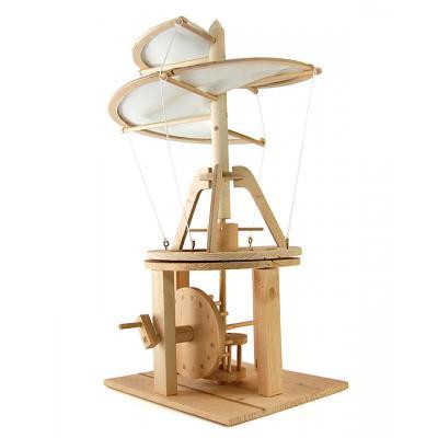 Pathfinders - Leonardo Da Vinci Helicopter Wood