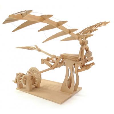 Pathfinders - Leonardo Da Vinci Ornothopter Wood