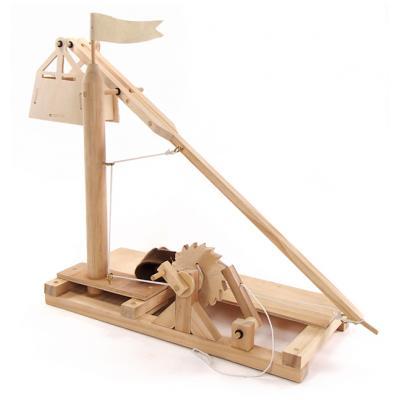 Pathfinders - Leonardo Da Vinci Trebuchet Wood