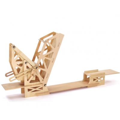 Pathfinders - Wooden Strauss Trunnion Bascule Bridge