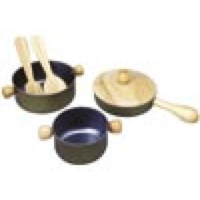 Plan Toys 3413  - Wooden Cooking Utensils