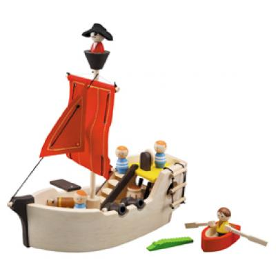 PlanToys 6105  - Wooden Pirate Ship