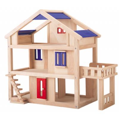 PlanToys 7150 - Wooden Terrace Dollhouse