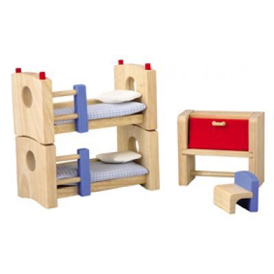 Plan Toys 7304  - Wooden Children's Room - Neo