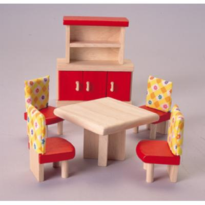 PlanToys 7306  - Wooden Dinning Room Furniture - Neo