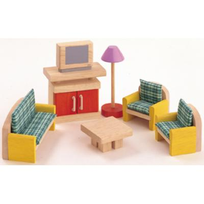 PlanToys 7307  - Wooden Living Room Furniture - Neo