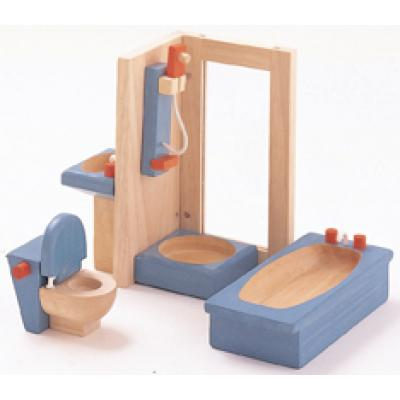 PlanToys 7308  - Wooden Bathroom Furniture - Neo