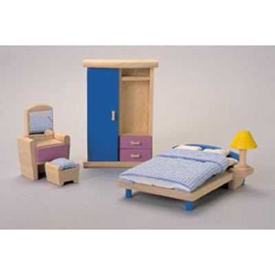 PlanToys 7309  - Wooden Bedroom Furniture - Neo