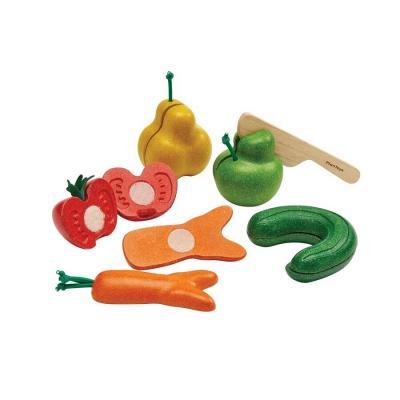 Plan Toys 3495 - Wonky Fruit & Vegetables