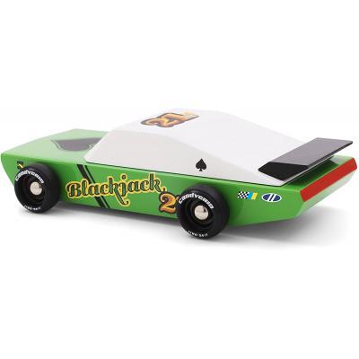 Candylab Toys - Blackjack Wooden Race Toy Car