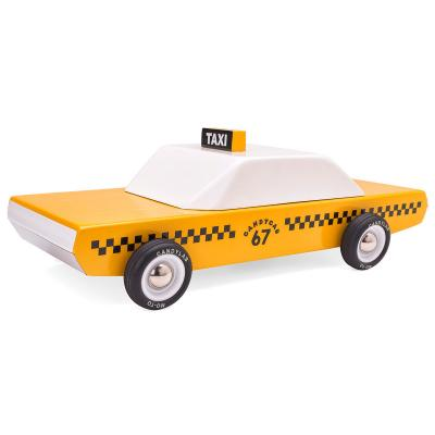 Candylab Toys - CandyCab Wooden New York Cab Taxi Toy Car