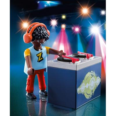 Playmobil 5377 DJ With Two Record Plates