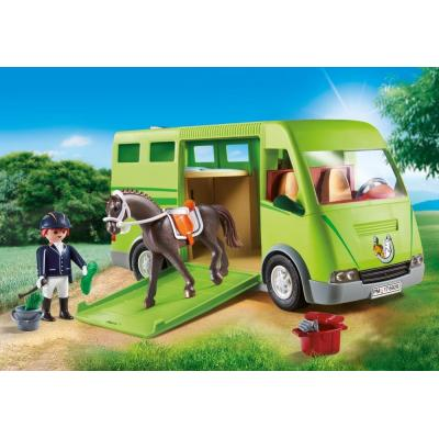 Playmobil 6928 - Horse Transporter Country Horse Farm New 2018