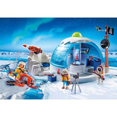 Playmobil 9055 Arctic Expedition Headquarters - Action