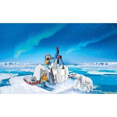 Playmobil 9056 Arctic Explorers with Polar Bears - Action