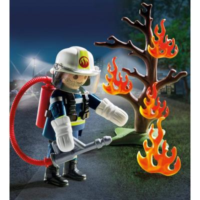 Playmobil 9093 Fire Fighter with Tree