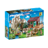 Playmobil 9126 - Rock Mountain Climbers with Cabin - Action
