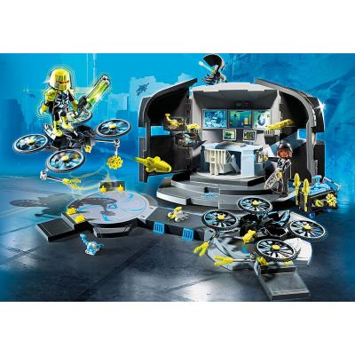 Playmobil 9250 Dr. Drone's Command Base - Top Agents