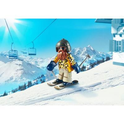 Playmobil 9284 Skier with Poles - Family Fun